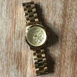 Michael Kors gold runway watch MK-5055